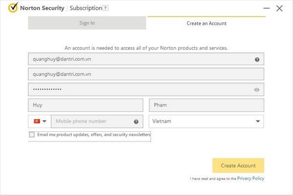 Bản quyền miễn phí phần mềm bảo mật mạnh mẽ và danh tiếng - 1