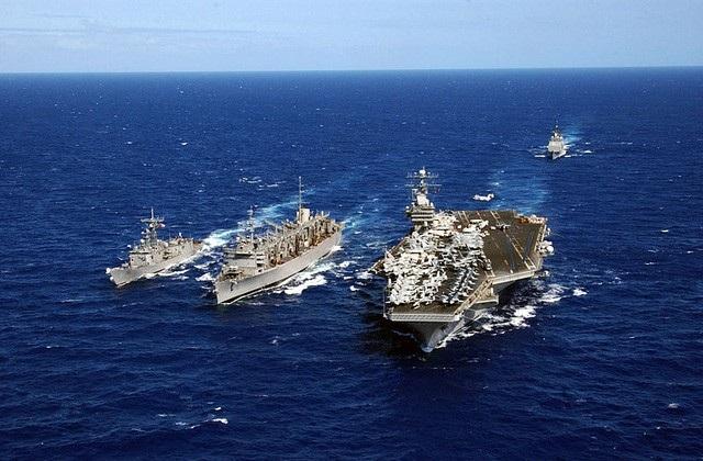 Tàu sân bay USS Carl Vinson của Mỹ sẽ tới Đà Nẵng - Việt Nam từ ngày 5/3-9/3 (Ảnh: Wikipedia)