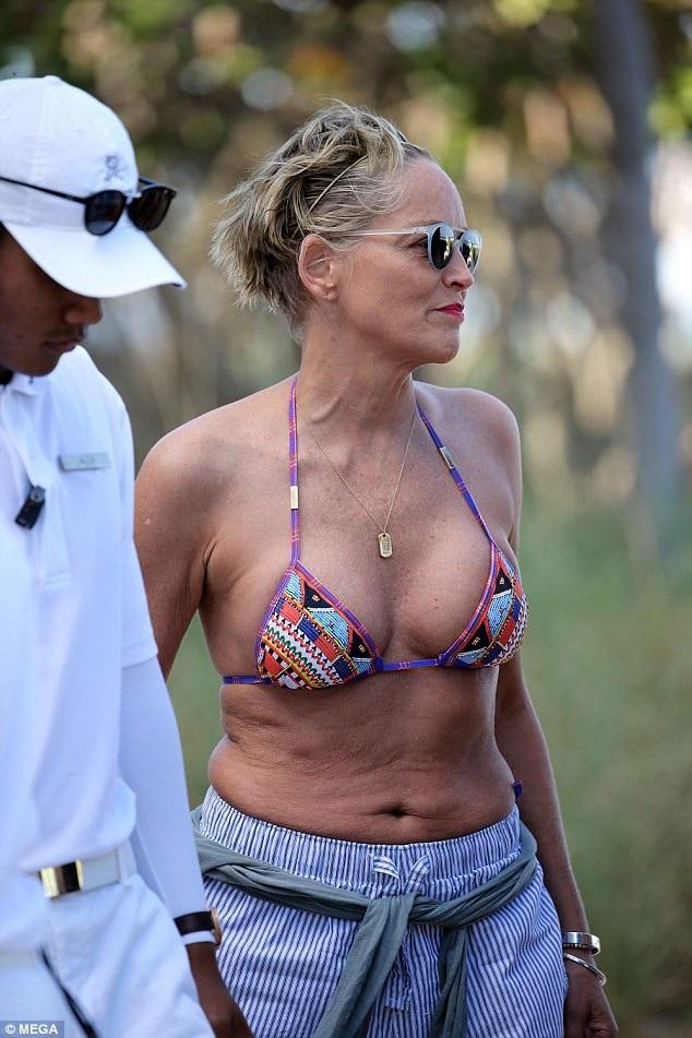 Sharon Stone bị đồn đại là đã bí mật đính hôn với doanh nhân người Ý