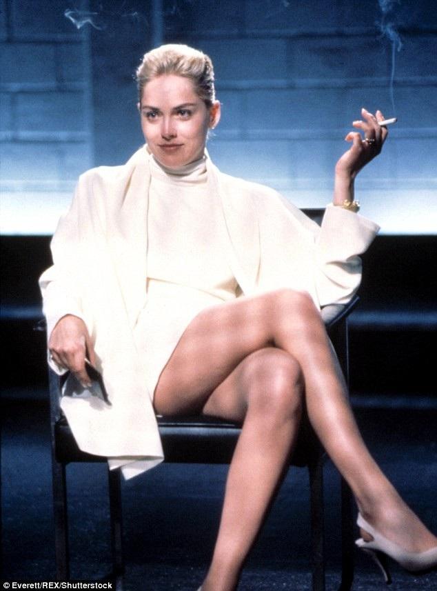 Sharon Stone một thời là biểu tượng nhan sắc của Hollywood