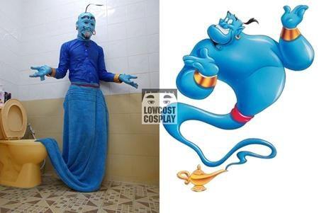 """Thần đèn trong """"Aladdin"""" hiện ra từ đèn còn Thần đèn của Anucha Sangchart thì lại hiện ra từ chỗ """"khó ngửi"""" đến vậy"""