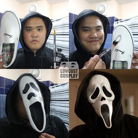 """Có ai ngờ được rằng, chiếc mặt nạ đáng sợ trong """"Scream"""" lại được tạo nên từ một chiếc giày"""