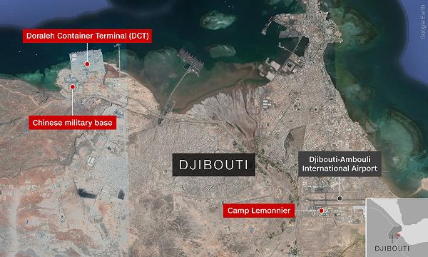 Djibouti có vị trí chiến lược quan trọng