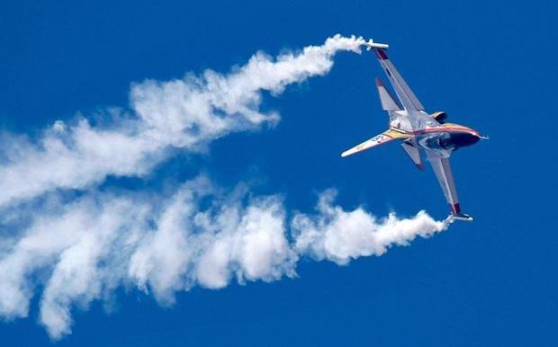 Máy bay T-50 được Hàn Quốc sử dụng để huấn luyện phi công cho máy bay chiến đấu F-15 và các máy bay chiến đấu khác. (Ảnh: AFP)