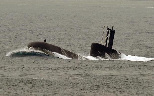 Tàu ngầm lớp Type 209 là một trong 10 tàu ngầm của Hải quân Hàn Quốc. (Ảnh: AFP)