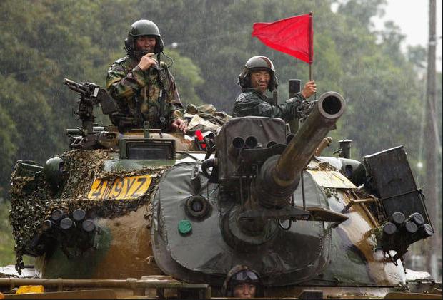 Xe tăng M48A2 của Hàn Quốc là biến thể chạy bằng diesel của xe tăng chiến đấu M48 Patton do Mỹ thiết kế. (Ảnh: Getty)