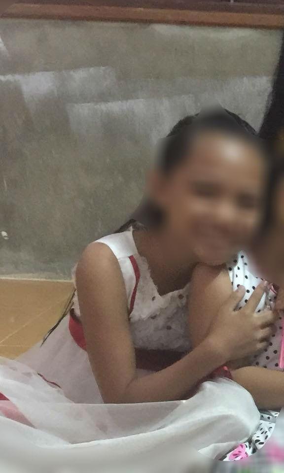 Bé gái Nguyễn Thị Minh T. nghi bị kẻ xấu hãm hại khi đi chăn trâu.