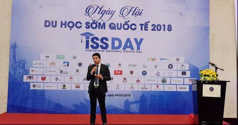 Ông Nguyễn Bá Tưởng phát biểu trong phần khai mạc