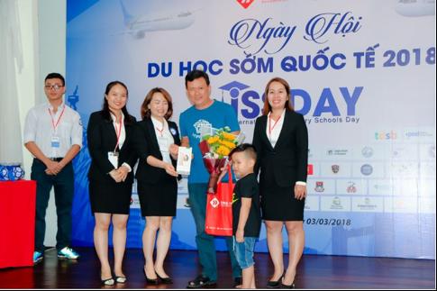 Anh Nguyễn Hoàng Quân đánh giá cao sự thành công của Ngày hội du học sớm quốc tế