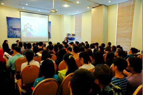 Hội thảo: Hành trang du học từ A – Z thu hút sự quan tâm đặc biệt của Quý phụ huynh, học sinh
