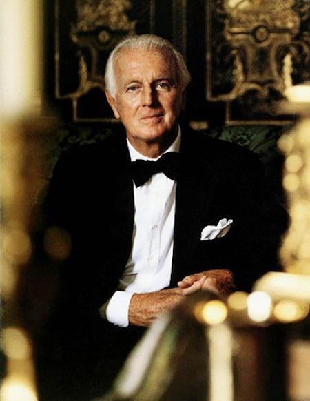 Hubert de Givenchy vừa qua đời ở tuổi 91