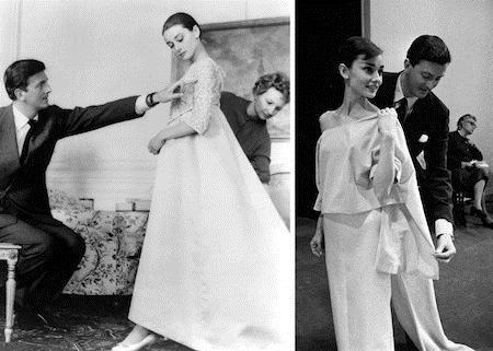 Hepburn thường xuyên mặc đồ Givenchy thiết kế để đóng phim