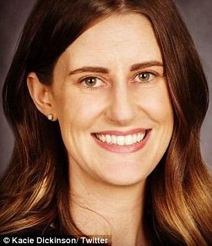 Kacie Dickinson là chuyên gia về ăn kiêng và là giảng viên về dinh dưỡng và ăn kiêng của ĐH Flinders