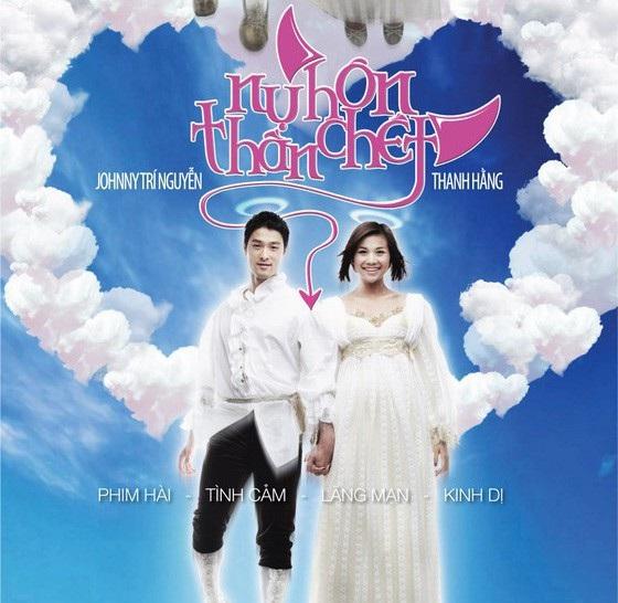 """Tác phẩm điện ảnh """"Nụ hôn thần chết"""" trở thành hiện tượng lớn khi ra mắt cách đây 10 năm đã giúp siêu mẫu Thanh Hằng và Johnny Trí Nguyễn bước lên đỉnh cao mới trong sự nghiệp diễn xuất."""