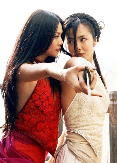 Thanh Hằng cùng Tăng Thanh Hà đã có sự kết hợp ngọt ngào trong Mỹ nhân kế