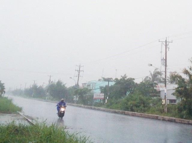 Tuyến đường Cao Văn Lầu vẫn chưa hoàn thành theo tiến độ vì còn gặp nhiều khó khăn.