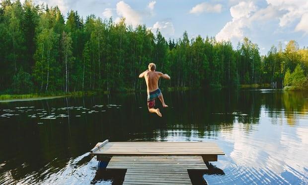 Hồ Vuohijärvi ở Phần Lan (Ảnh minh họa: Alamy)