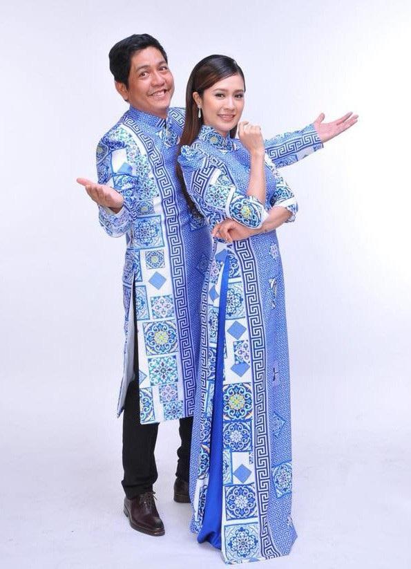 Đạo diễn Đức Thịnh và vợ Thanh Thúy
