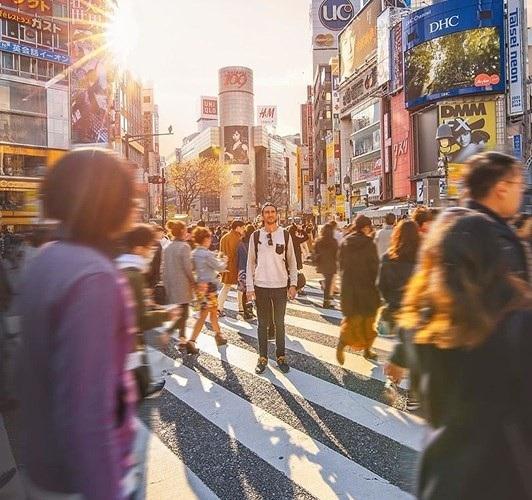 Trung tâm Tokyo, Nhật Bản./.