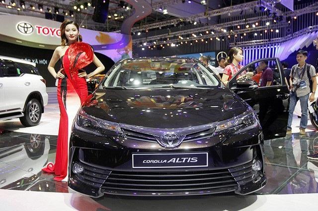 Mẫu Toyota Corolla Altis được lắp ráp tại Việt Nam
