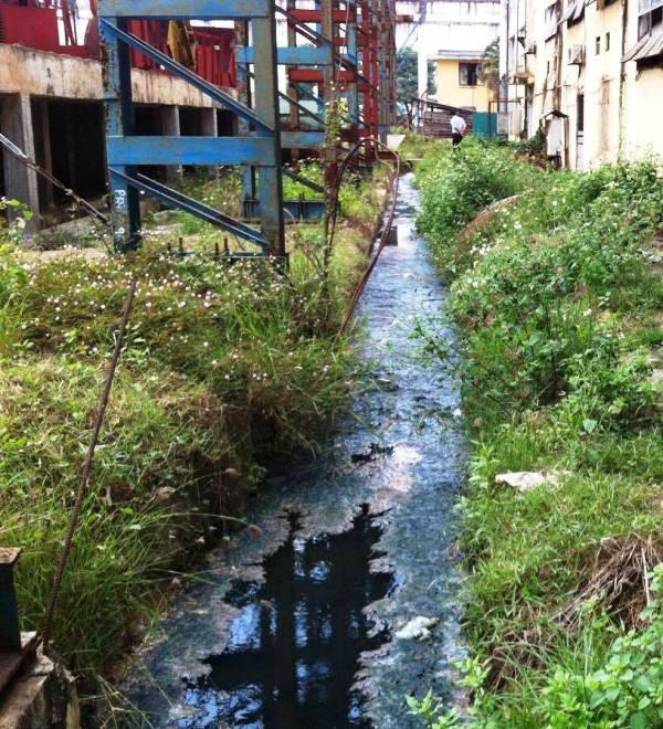 Vấn đề ô nhiễm vẫn chưa được BISUCO khắc phục triệt để (ảnh tư liệu).