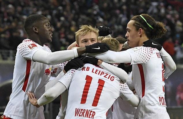 Leipzig chiếm ưu thế hoàn toàn so với Bayern Munich