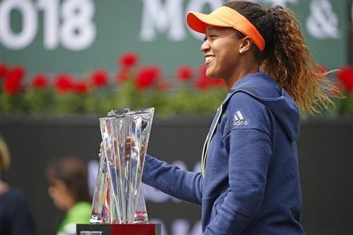 Naomi Osaka vô địch Indian Wells ở tuổi 20