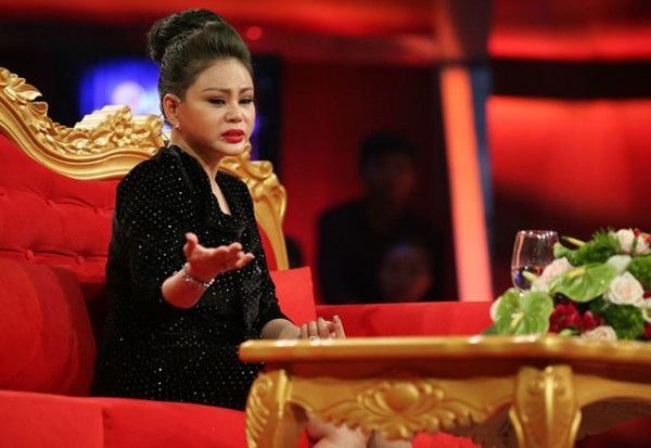 Lê Giang - vợ cũ của Duy Phương trong chương trình Sau ánh hào quang tập 10, phát sóng tháng 12/2017.