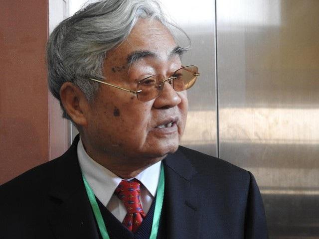 GS.VS Phạm Minh Hạc, nguyên Bộ trưởng Bộ Giáo dục (Ảnh: Mỹ Hà)