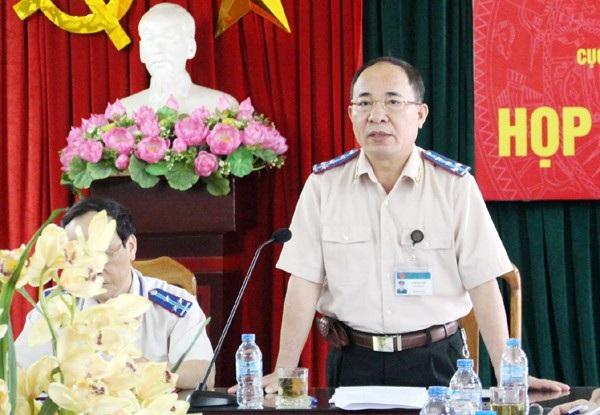 Cục trưởng Cục Thi hành án dân sự Hà Nội - ông Lê Quang Tiến.