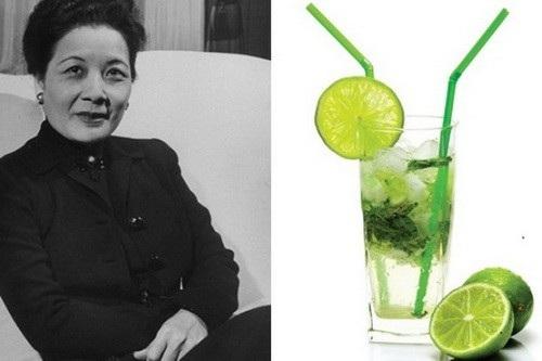 Tống Mỹ Linh thường xuyên uống nước chanh để cải biến tính axit trong cơ thể.