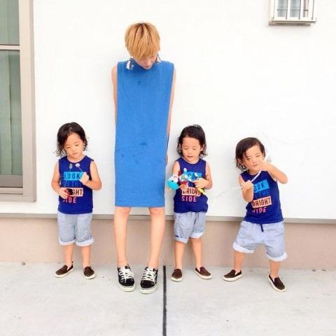 Bộ ảnh dễ thương của bà mẹ 5 con hot nhất Nhật Bản - 14