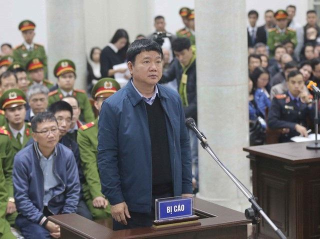 Ông Đinh La Thăng tại một phiên toà (Ảnh: TTXVN).