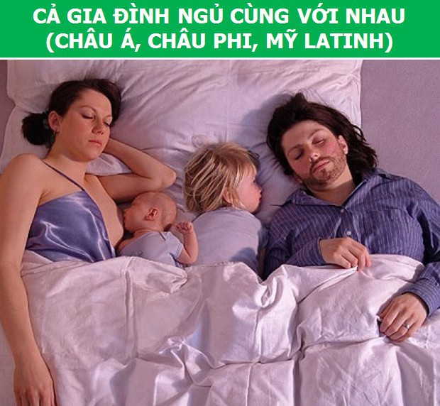 """Khám phá """"văn hóa ngủ"""" khác biệt của người dân trên thế giới - 7"""