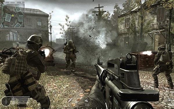 Duttenhofer khẳng định chính những kỹ năng mà anh học được từ game Call of Duty (ảnh) đã giúp mình sống sót sau 6 tháng tại Syria