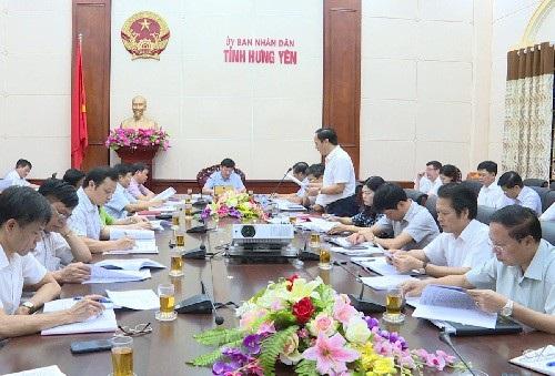 Lãnh đạo tỉnh Hưng Yên họp bàn, chỉ đao phát triển kinh tế-xã hội cuối năm 2017