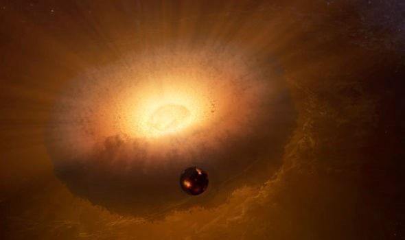 Một hành tinh nhỏ đâm thẳng vào Trái Đất và tạo ra Mặt trăng - 1