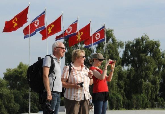 Lượng khách nước ngoài đến với Triều Tiên tăng hơn trước