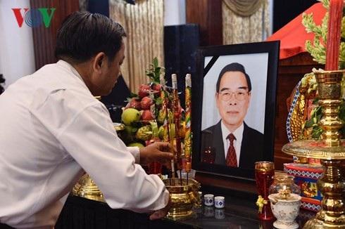 Hình ảnh tại Hội trường Thống Nhất, Thành phố Hồ Chí Minh sáng sớm nay. (Ảnh: VOV)