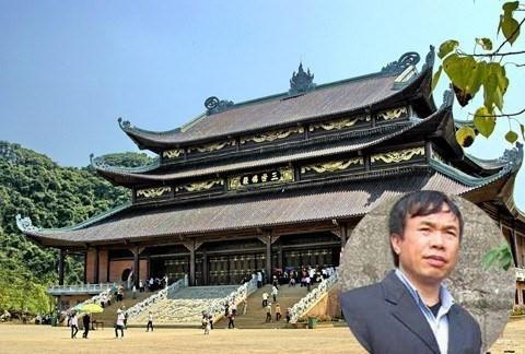 Đại gia Nguyễn Văn Trường, chủ DNTN Xuân Trường gây tiếng vang với nhiều công trình tâm linh lớn
