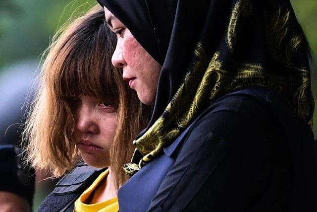 Nghi phạm Đoàn Thị Hương (Ảnh: AFP)