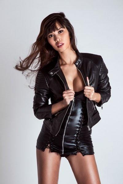 Siêu mẫu Hà Anh vẫn nóng bỏng ở tháng thứ 7 thai kỳ - 1