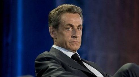 Cựu Tổng thống Pháp Nicolas Sarkozy bị cảnh sát tư pháp bắt giữ ngày 20/3 để điều tra nghi án nhận tiền bất hợp pháp. Ảnh: Caasimada