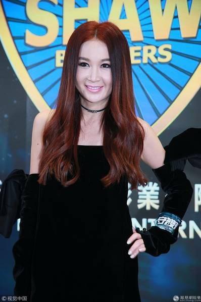 Ôn Bích Hà xuất hiện đầy cuốn hút tại buổi họp báo giới thiệu bộ phim mới của đài TVB (Hồng Kong), ngày 20/3 tại Hông Kong.