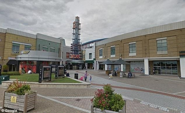 Rạp chiếu Vue Cinema nằm trong khu vui chơi giải trí Star City, thành phố Birmingham, Anh.