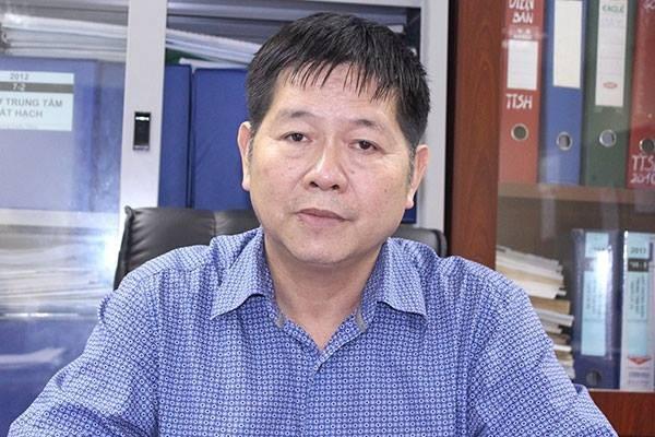 Ông Nguyễn Thắng Quân - Vụ trưởng Vụ Quản lý phương tiện và người lái