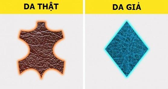 Cách phân biệt chất liệu da thật và da tổng hợp - 1