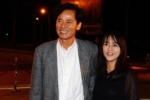 Diễn viên Dũng Nhi và vợ