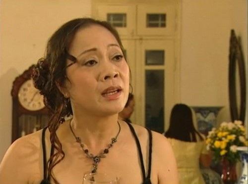 Chạy án là một trong số các vai diễn đặc trưng của diễn viên Hương Dung