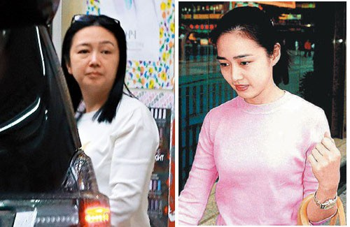 Dung mạo Chu Lệ Thiên - vợ của tài tử Lưu Đức Hoa - thay đổi rất nhiều so với thời trẻ.
